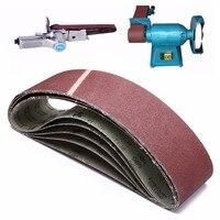 5 Pack Abrasive Sanding Belts 40 60 80 120 Grit Fits 915 100mm Belt Sander For