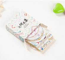 New geometry mini style paper seal sticker / 1 lot = 1 pack = 40 pcs(China)