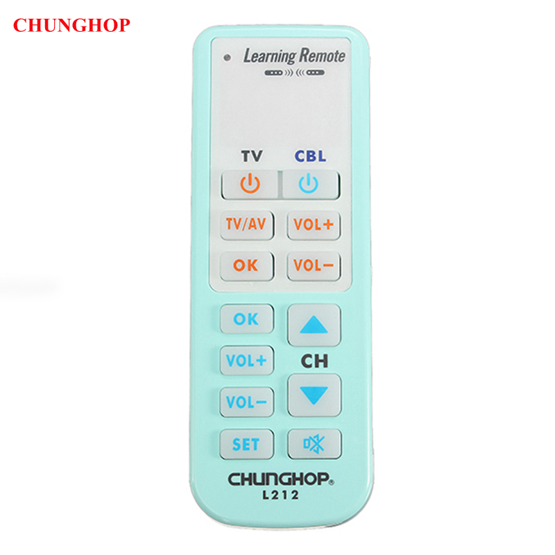 CHUNGHOP L212 Universal Smart Learning Remote Control For TV CBL SAT DVD