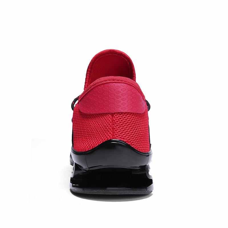 Мужская Спортивная обувь из дышащей змеиной кожи; мужские кроссовки; Мужская Спортивная обувь для бега; мужские летние кроссовки; черные теннисные B-005