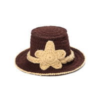 New Arrival Handmade Hat Newborn Photography Props Infant Hand Jazz Hats Crochet Baby Outfits Knit Cap