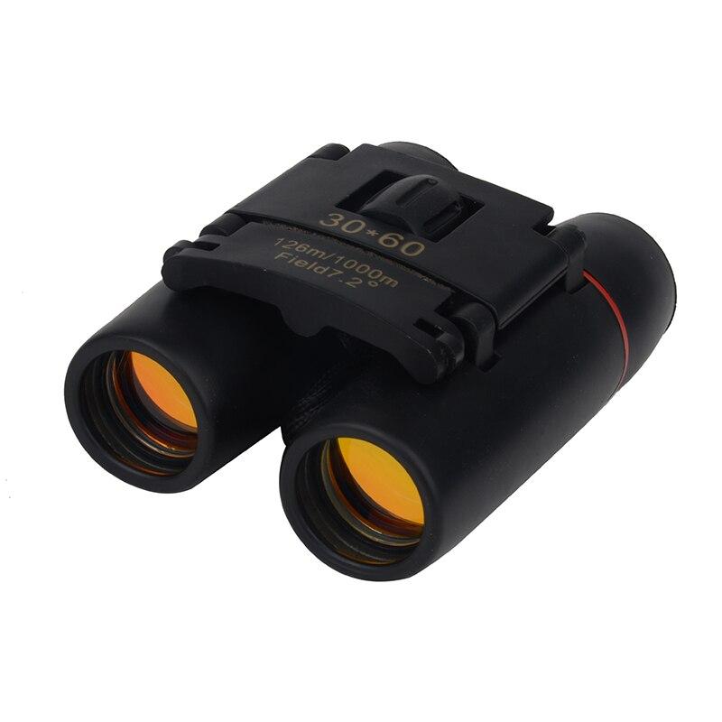 30x60 Zoom Camping caza día visión nocturna binoculares viaje telescopio 1000 m-126 M bolsa plegable