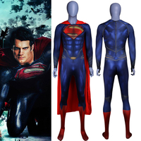 2019 Super Hero Printed Jumpsuits Super Man Cosplay Costume Suit Unisex One Piece Outfit Bodysuit Fancy Halloween Party Costumes