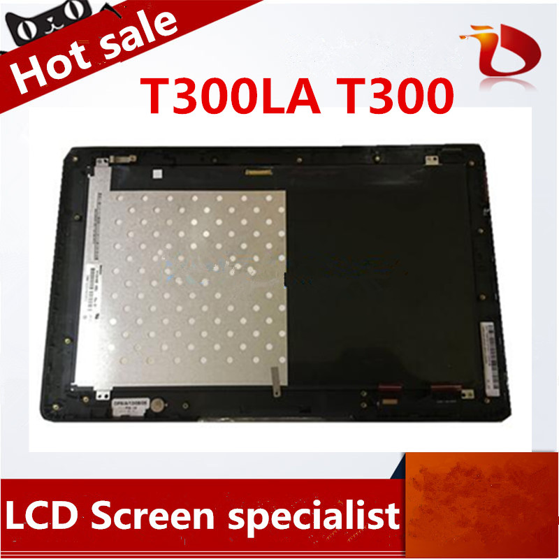 Gread A+ For ASUS T300LA T300 M133NWF2 Black LCD Display Monitor + Touch Screen Panel Digitizer Sensor Assembly Replacement