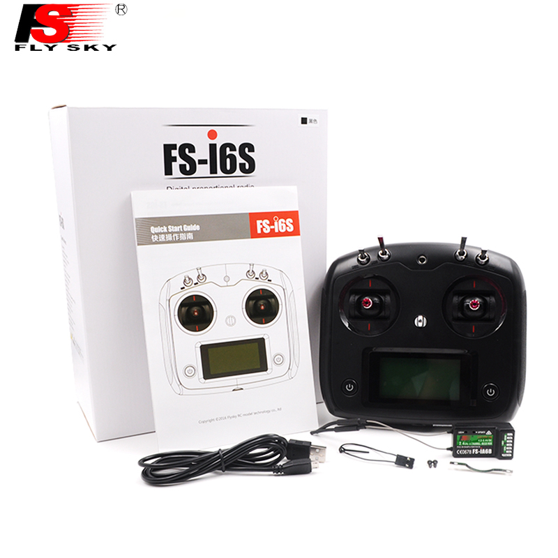 Newest FlySky FS-I6S Remote Controller FS i6s 2.4G 6ch Radio Transmitter + iA6b Receiver for RC Quadcopter Multirotor Drone 1set flysky fs i6s remote controller fs i6s 2 4g 6ch radio transmitter ia6b receiver for rc quadcopter multirotor drone