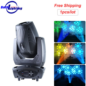 גבוהה כוח בהירות 200 w LED Beam ספוט לשטוף הזזת ראש אור זום ערוצים DMX DJ שלב דיסקו אור