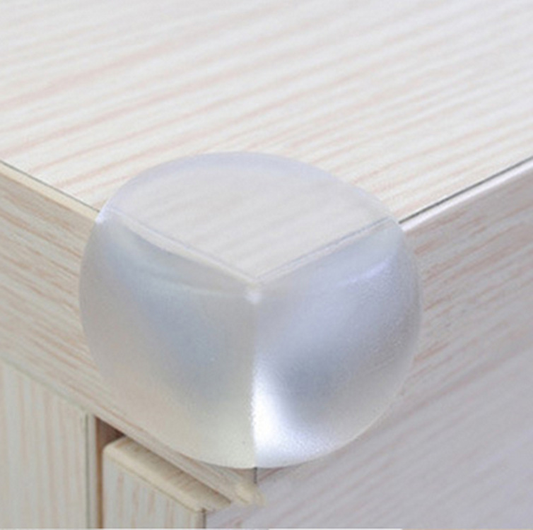 10Pcs Child Baby Safety Silicone Protector Table Corner Edge Protection Cover Children Anticollision Edge & Guards