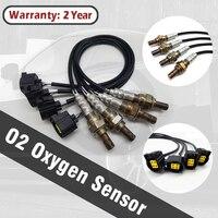 4PCS 4 Pins Oxygen Sensor Front Rear 234 4770 234 4587 234 4771 For Dodge Durango Ram Jeep Commander Grand Liberty