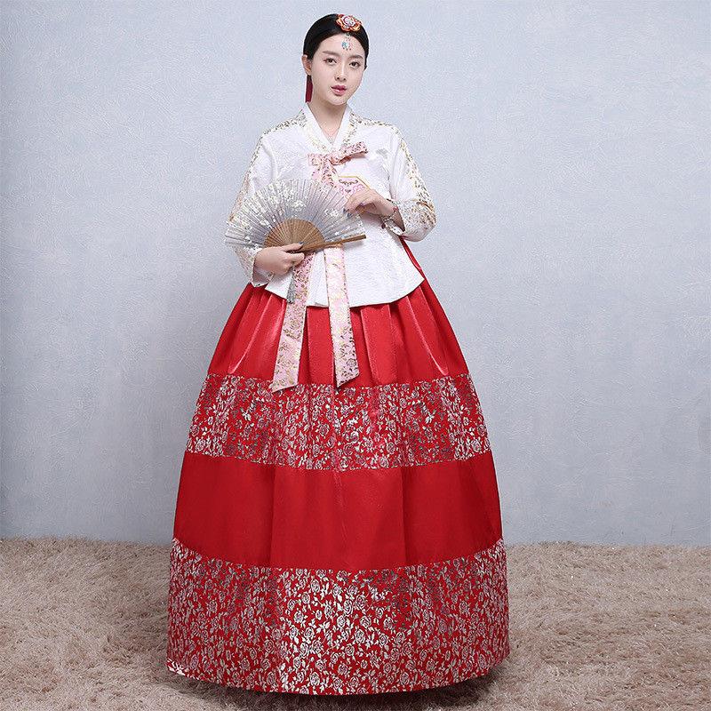 Hanbok Dress Traditional Korean Ceremony Costume DANGUI Korean Royal Costume Hanbok Costume