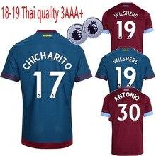 ff4aaa99a 2018 2019 Novo de alta qualidade adulto camisa Casual camisa West Ham United  18 S-2XL 19 Qualidade camisa Casual Tamanho livre g.
