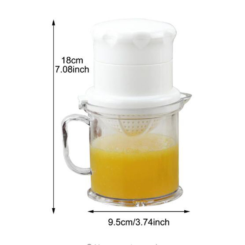 1Set Detachable Orange Lemon Squeezer Manual Fruit Juicer Kitchen Tool in Squeezers Reamers from Home Garden