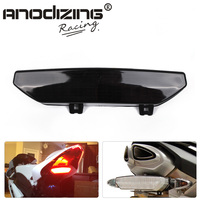 New Free Shipping Motorcycle Tail Light for KAWASAKI NINJA ZX 6R ZX6R 2007 2008 Concours 14 2008 2014 LED Tail Light