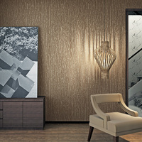 beibehang The new plain particle environmental nonwoven wallpaper TV background wall kitchen living room bedroom Hotel wallpaper