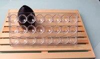 Toosl de Pastelería de alta Calidad En Forma de Diamante DIY Hecho A Mano Del Molde PC Chocolate Del Molde Del Chocolate Del Molde de Policarbonato Transparente de Chocolate Herramientas
