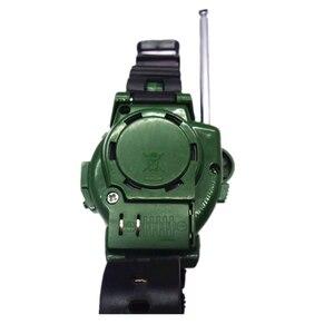 Image 5 - 2 قطعة في 1 اسلكية تخاطب ساعة التمويه نمط ألعاب أطفال أطفال كهربائي قوي واضح المدى البيني الاطفال التفاعلية راديو