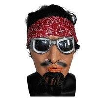 X-Feliz Brinquedo Japonês Homem Máscara De Látex Traje de Disfarce Realista Humano Halloween Máscara Frete Grátis