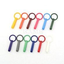 120 шт красочные перчатки крюк пластиковые пряжки карабин с уплотнительным кольцом используется для занавесок для душа