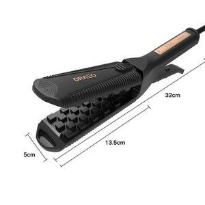Image 5 - Plancha para voluminizar el cabello, planchas de hierro planas, alisadoras esponjosas, adecuadas para herramientas de estilismo de cabello largo y corto