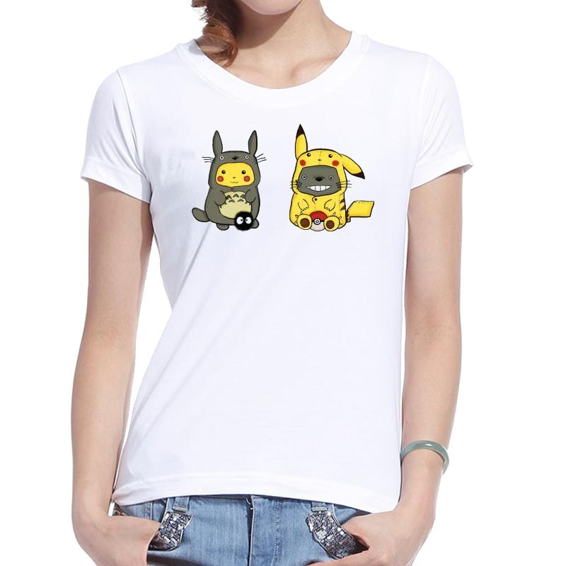 New Women T Shirt Printed Cotton Harajuku Kawaii Japan ...