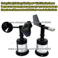 Wind Direction Sensor+Wind Speed Sensor DC12V 1 to5V Voltage Signal 5 Sets Per Order Delivery From Factory Directly