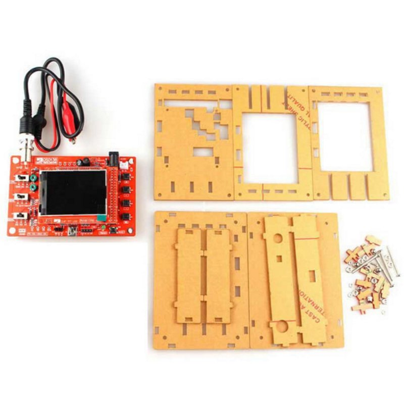 DSO138 2.4 TFT Pocket-size Digital Oscilloscope Kit DIY Parts Handheld Acrylic DIY Case Cover Shell for DSO138(only the cover) image