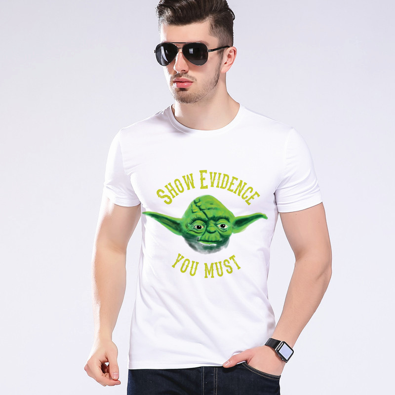 New brand 2018 Fashion Star Wars Tops Print T Shirt Short Sleeve Tees Hip Hop Tops Tees  ...
