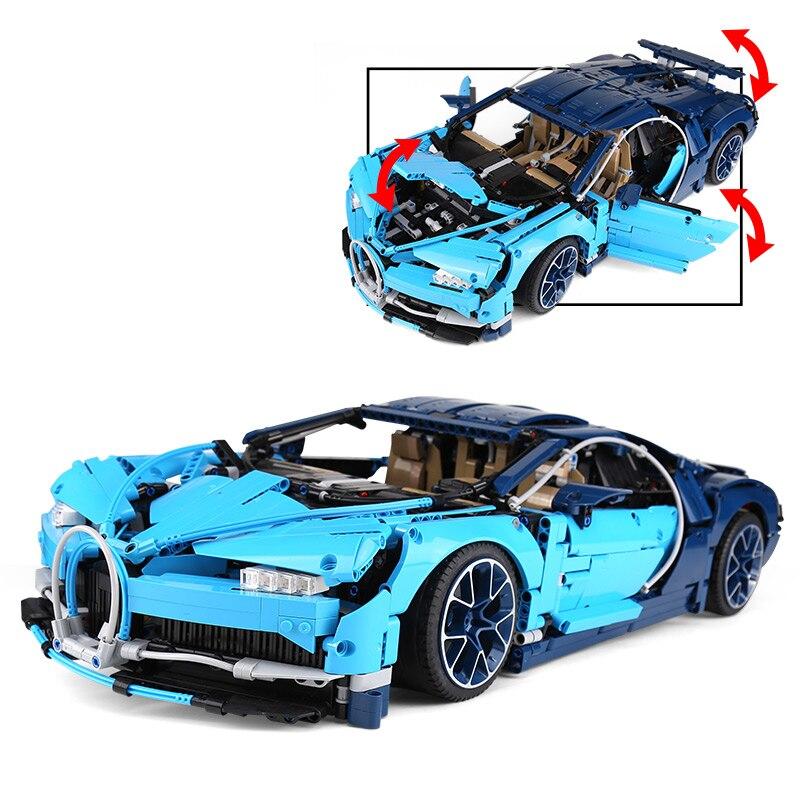 20086 سيارة تكنيك سلسلة متوافق مع 42083 سوبر سيارة بناء كتل الطوب التعليمية الصبي سيارة الهدايا نموذج-في حواجز من الألعاب والهوايات على  مجموعة 2