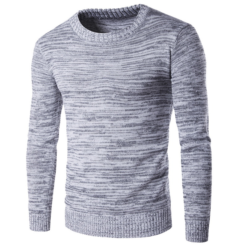 2019 New Man Knitwear Autumn Winter Fashion Brand Men Sweaters Pullovers Knitting Wool Warm Designer Slim Fit Casual Knitted image