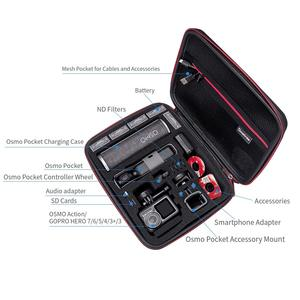 Image 2 - Smatree Hardshell Osmo Pocket Accessories Storage Case for DJI Osmo Pocket/Osmo Aaction/Gopro Hero 8,for Charging Case