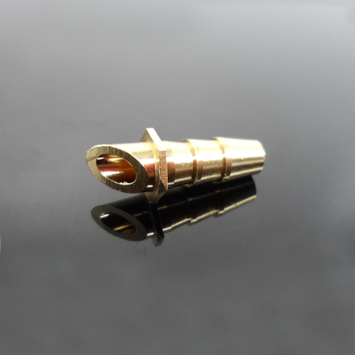 DIY Electric Boat Accessories O-boat Bevel Inlet Water Mouth Brass Water Suction Nozzle For RC Model Ship
