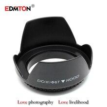 67mm digicam lens hood Petal Buckle lens hood 67mm for Canon EOS EF-S 10-18mm F4.5-5.6 lens 18-105MM 18-135MM STM