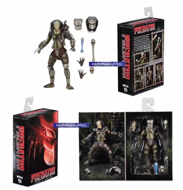 Animation Movie predator VS alien cartoon toys city hunter Jungle hunter luxurious edition,Action figure modelAnimation Movie predator VS alien cartoon toys city hunter Jungle hunter luxurious edition,Action figure model