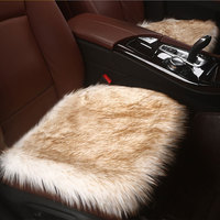 Plush car seat cover accessories 3 pieces for great wall haval h2 h5 h6 h9 hover h3 h5 m4 safe jac j5 s3 s5 mg3 zs zotye t600
