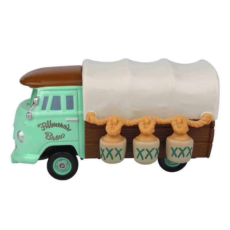Disney Pixar автомобили 2 Молния Маккуин Филлмор литья под давлением Металл игрушки модели автомобилей Джексон Storm подарок на день рождения игрушки для детей для мальчиков