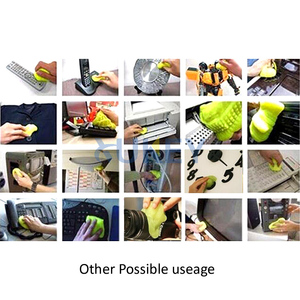Image 5 - Car Keyboard Cleaner Glue Gel Interior Panel Air Vent Outlet Dashboard Dust Magic Cleaning Tool Laptop Sponge Mud Remover