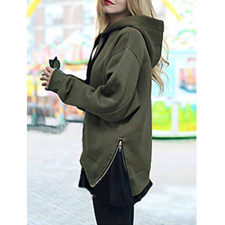 2018 women hoodies sweatshirts ladies autumn winter fall clothes pullovers o-neck solid holiday sports sweat shirts hoodies