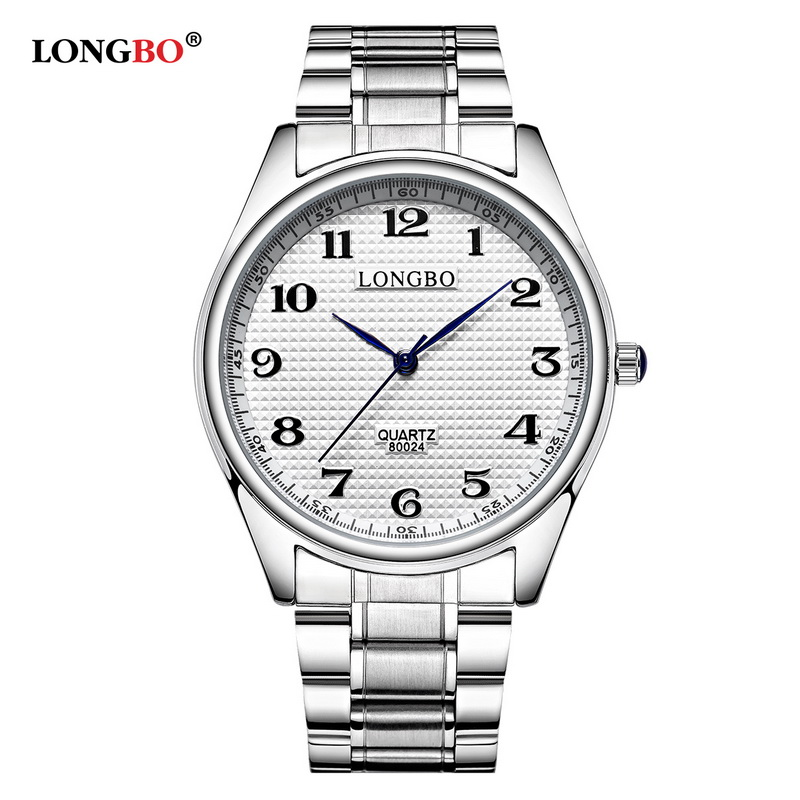 2017 New Fashion Quartz Watch Men Casual Steel Strap Watches Women Couple Watch Sports Analog LONGBO Brand Wristwatch Gift 80024 new eyki brand couple watches tables fashion formal stainless steel strap waterproof quartz watch ladies watch men s watches