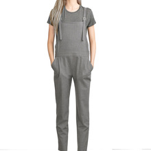 Jumpsuit Romper Women Fashion 2016 Vertical Striped One Piece Bodycon Suspenders Overalls Fitness Jumpsuits and Rompers Playsuit
