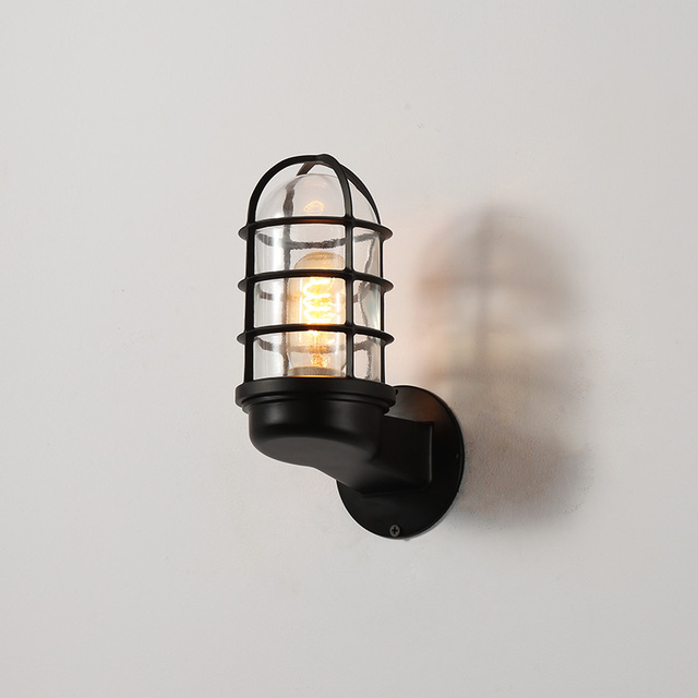 Wall Light Outdoor Porch Waterproof Ip44 For Garden Decoration Bathroom Modern Lamps With E27