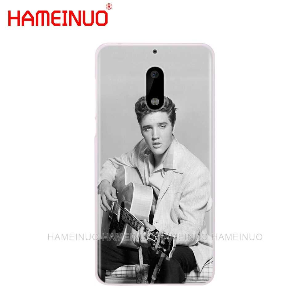 HAMEINUO Elvis Presley pocałunek luksusowa osłona etui na telefon Nokia 9 8 7 6 5 3 Lumia 640 640XL 2018