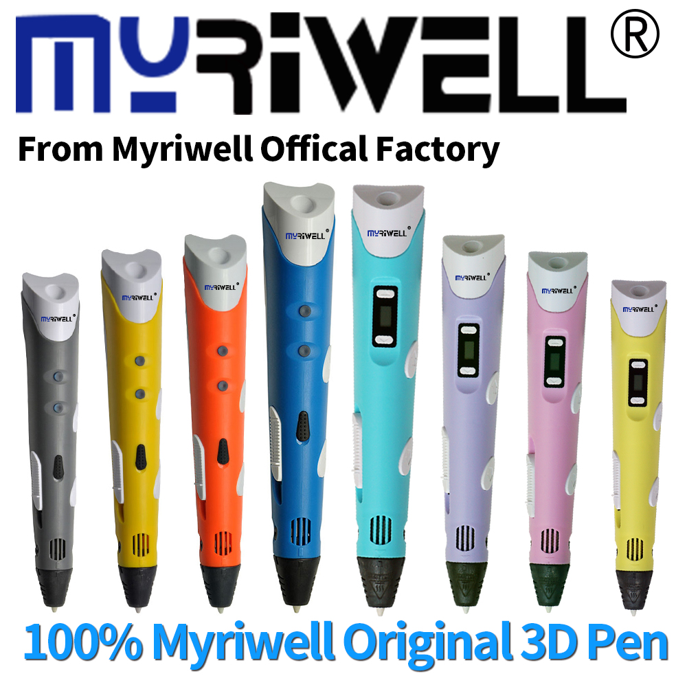 Myriwell Official 3D Pen 3D Printing Drawing Pen 9 Meters ABS Filament Magic Simple Packing Cheap