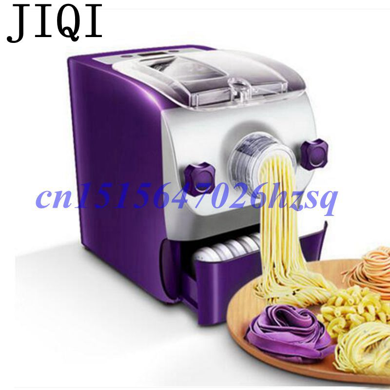 JIQI Electric noodles machine Eight molds dumpling wrapper/various of noodles Maker Spaghetti Pasta Household full-automatic яичная лапша egg noodles сен сой