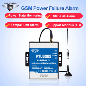 """Image 3 - GSM טמפרטורת לחות צג AC/DC כוח אבודה מרחוק צג תמיכת טיימר דו""""ח APP בקרת RTU5023"""