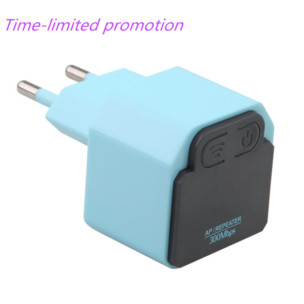 Portable WiFi 300Mbps Wireless WiFi Repeater Signal Booster Repeater 2.4Ghz AP Router Wireless Wi-fi Signal Amplifier US EU Plug