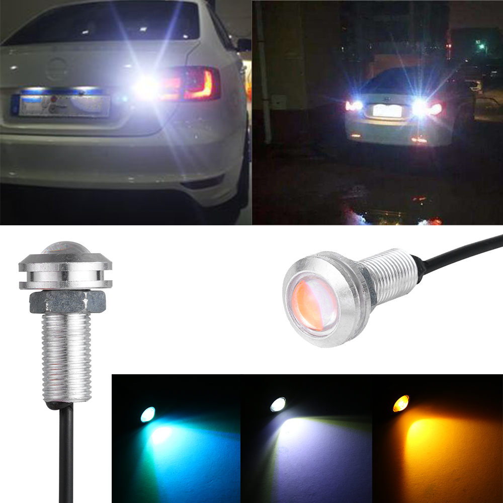 LED Eagle Eye Car Light Fog Reverse Signal Daytime Running DRL Bulb Lamp Tools