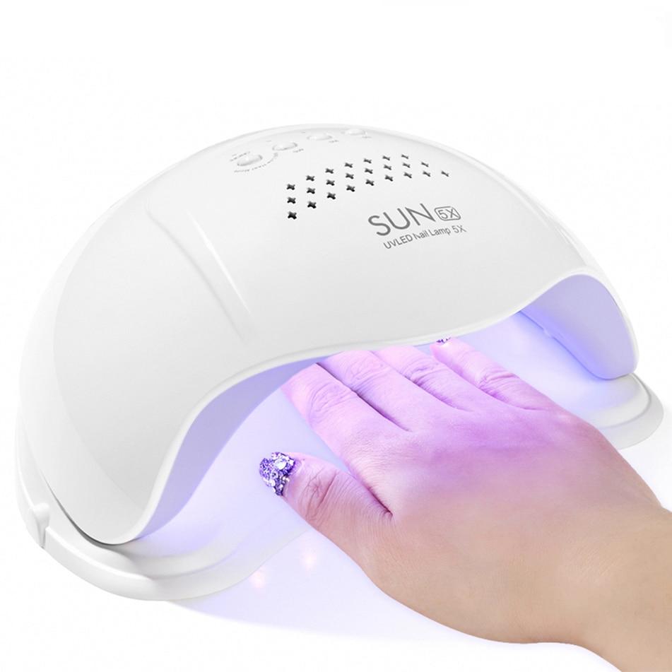 SUN5X  48W UV LED Nail Lamp Nail Gel Curing Lamp UV Gel Nail Dryer Nail Art Tool-in Nail Dryers from Beauty & Health