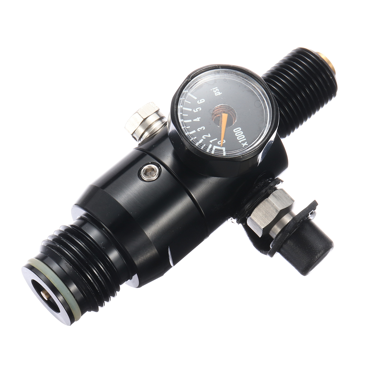 PCP Paintball Cylinder Tank 4500psi 0.5L High Compressed Air Bottle W// Regulator