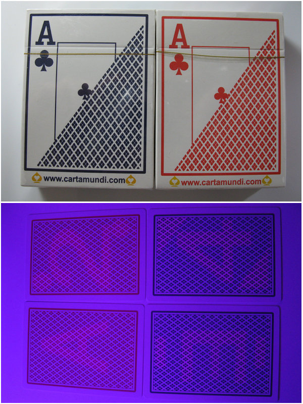 Magic Poker Home- Perspective Poker, Plastic Poker Cards,,88x63mm