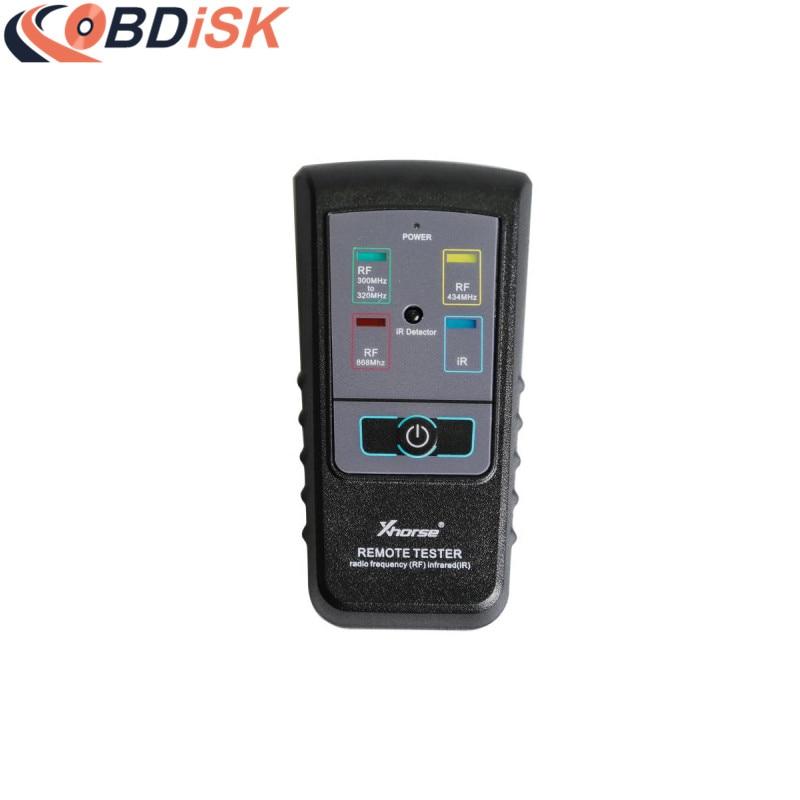 Цена за Оригинал Xhorse удаленный тестер для радио частоты инфракрасного (не Поддержка 868 мГц) Бесплатная доставка