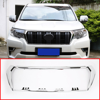 ABS Front Racing Grill Grille Accessories For Toyota Land Cruiser Prado LC150 FJ150 2010-2018 Auto Accessories 4pcs